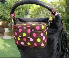 Ultimate Compact Diaper Bag Nappy Bag Stroller Bag by Tracey Lipman Small Diaper Bag, Nappy Bags, Stroller Bag, Changing Mat, Pink And Green, Hot Pink, Buy And Sell, Compact, Handmade