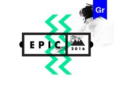 """Empfohlenes @Behance-Projekt: """"BE EPIC."""" https://www.behance.net/gallery/33471499/BE-EPIC"""