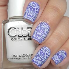 Crumpet's 40 Great Nail Art Ideas Present: Violet