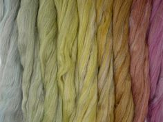 Forest Floor Gradient Pack of blended wool tops. This gradient has been created to make a seamless transition from one colour to the next. One Color, Packing, Bag Packaging