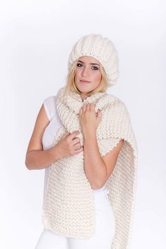 'Just Beanie' & 'Warm Me' scarf