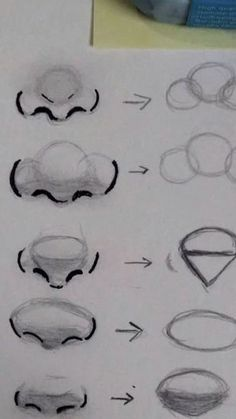 Art Drawings Sketches Simple, Pencil Art Drawings, Detailed Drawings, Easy Drawings, Cartoon Drawings, Body Sketches, Character Sketches, Cartoon Faces, Images Of Drawings