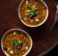 The best Hearty lamb shank soup recipe you will ever find. Welcome to RecipesPlus, your premier destination for delicious and dreamy food inspiration. Lamb Shank Soup, Lamb Shank Recipe, Lamb Recipes, Slow Cooker Recipes, Soup Recipes, Yummy Recipes, Lamb Shanks Slow Cooker, Barley Soup, Winter Soups