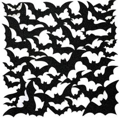 Anna Griffin - Spooktacular Die-Cut Glitter Cardstock - Black Bats - Scraps of Darkness and Scraps of Elegance - Spooky fun for Halloween scrapbook layouts! Scrapbook Borders, Scrapbook Titles, Scrapbooking, Halloween Silhouettes, Halloween Backgrounds, Outdoor Halloween, Halloween Art, Die Cutting, Paper Cutting