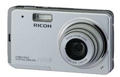Ricoh Caplio R50 – Digital camera – compact – 10.0 Mpix – optical zoom: 5 x – supported memory: MMC, SD, SDHC – silver