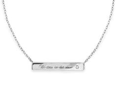 Missoma Sterling silver necklace
