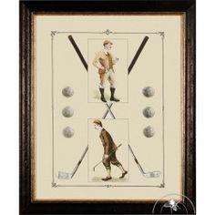 Tableau décoratif golf Albatros