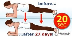 If you do this simple exercise during 28 days, your body will magically transform in a month!