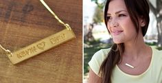 Fall In Love Necklace! Personalize Your Own!! | Jane