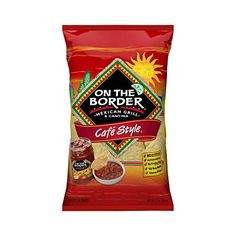 On The Border Chips, On The Border Salsa, Best Tortilla Chips, Sun Chips, Clean And Delicious, Mexican Grill, Delicious Restaurant, Chips And Salsa, Cafe Style
