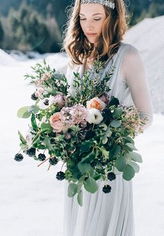 """Styled Shoot Februar 2016 """"Frosted Love"""" by Carolina Auer Photography Floral Wedding, Wedding Flowers, Wedding Day, Frost, Relationship, Pure Products, Flower Ideas, Love, Bouquets"""