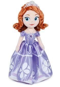 Vivi con Sofia avventure da vera Principessa! Una morbida Sofia da tenere sempre con te! Altezza 25 cm.
