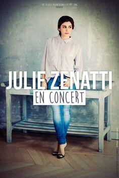 Affiche de la tournée 2014/2015 de Julie Zenatti