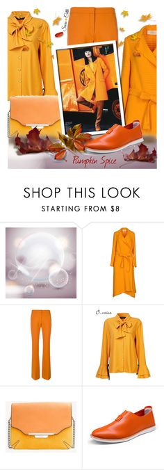 """""""Pumpkin Spice"""" by sara-cdth ❤ liked on Polyvore featuring Ports 1961, Victoria, Victoria Beckham, rag & bone and plus size clothing"""