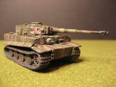 Flames of War, German SS Tiger tank