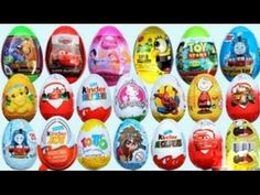 23 Ovetti Kinder Sorpresa Eggs ♥ Peppa Pig ♥Kung Fu Panda 3 ♥ Hello Kitt...