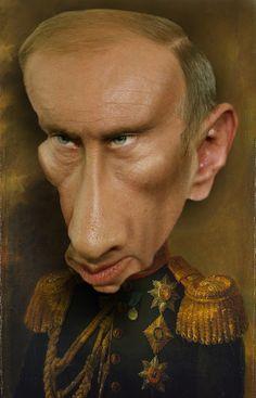Gilles Morand Caricatures - I Putin