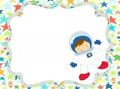 A Space Theme Classroom, Classroom Decor, Astronaut Party, Doodle Frames, Powerpoint Background Design, Kids Background, School Labels, Lisa Blackpink Wallpaper, Space Projects