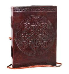 Celtic Knot Leather Journal / Sketchbook / Book of Shadows (Unlined) | The Magickal Cat Online Pagan/Wiccan Shop