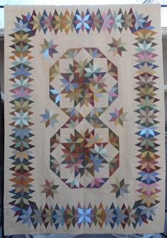 Capistrano made by Lonnie Brewer from the Pattern in Judy Martin's Book, Stellar Quilts. Beautiful! Viewer Photos