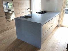 Keuken in beton ciré