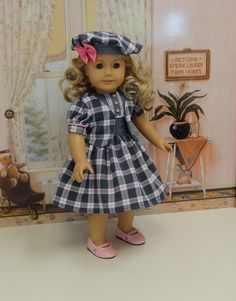 Perfectly Plaid  Dress Jacket & Beret for by cupcakecutiepie, $66.00