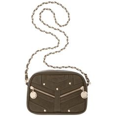 Rampage Chain Mini Crossbody Normal signs of wear but no stains/snags, and as shown in photo there is a slight lift where the stitching seems to have separated. Super cute and great for summer. Can fit everything you need in it. Inner pocket and two outer pockets. Measures at about 10 inches wide by 6 inches long. Sold out everywhere, bought at Macy's. Comes from smoke free home and no where near the dogs. Price is firm (can be cheaper on merc) but offers are welcomed. Happy poshing…