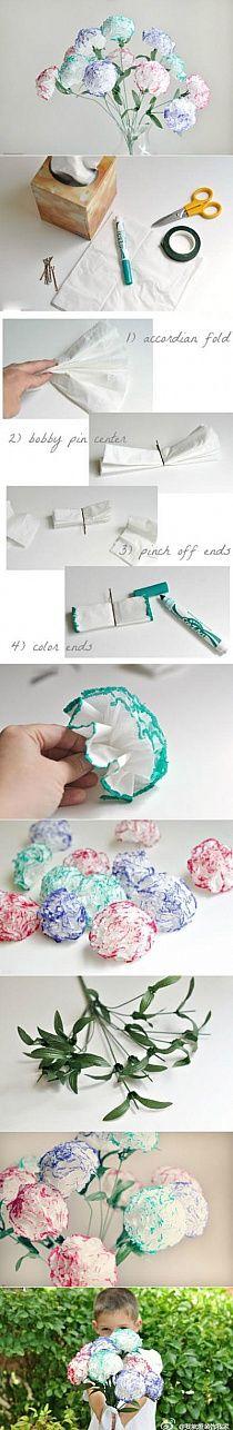 Kwiatki z papieru - Stylowi.pl - Odkrywaj, kolekcjonuj, kupuj
