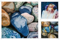 Repinning for my mom: artist Jason Esteban's watercolours of stones.