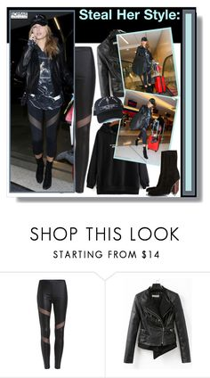 """""""Steal her style: Hailey Baldwin"""" by aminkicakloko ❤ liked on Polyvore featuring Baldwin"""