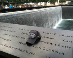 "L.A. Kings' fan Dave Krasne from New York City paid a great tribute to Kings' scouts Garnet ""Ace"" Bailey and Mark Lawrence Bavis, who were aboard United Flight 175, which crashed into the South Tower of the World Trade Centre on September 11, 2001."
