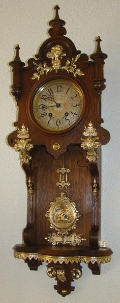Exceptional and Unique Balcony Lenzkirch Clock.
