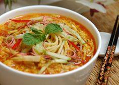 Spaghetti Thai Laksa Laksa, Iftar, Ramadan, Spaghetti, Meals, Ethnic Recipes, Food, Meal, Essen