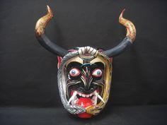 mascaras mexicanas tradicionales diablo - Buscar con Google