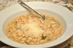 Slow Cooker Rosemary White Beans