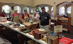 Saturday March 14 book sale @ Main - Friends of the Main Library St. Augustine are setting it up! | Flickr - Photo Sharing!