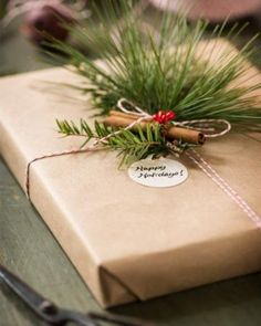 Eco- friendly holiday gift wrap