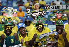 Faces of fans at the Africa Cup of Nations soccer championship (Photo: Rebecca Blackwell / AP)
