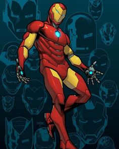 Iron Man #1 Variant Cover by mahmudasrar