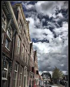 Typical Dutch. #iphoneography #netherlands #dutch #hoorn #igersholland #myskynow #strideby #people_in_bl #sky #urban #travel #trip #city #street #streetphotography #architecture #old #building #downtown #landscape_lovers #history #brick #culture #scenic #skypainters #citylife #rooftop #iphoneonly #iphonography #iphonephotography by bobhos