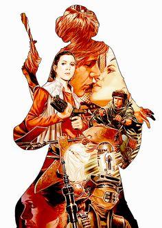 Star Wars: Princess Leia art
