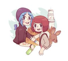 Life is Strange - Chloe and Max / by Bisparulz Life Is Strange Fanart, Life Is Strange 3, Arcadia Bay, Lgbt, Cat Sleeping, Kpop Fanart, Anime Couples, Sketches, Fan Art