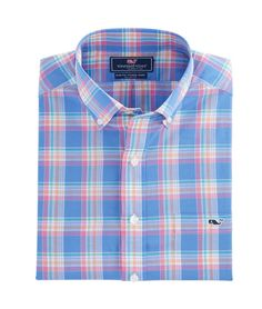Pavillion Plaid Slim Tucker Shirt