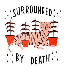 Surrounded By Death #illustration by Kelly Rule