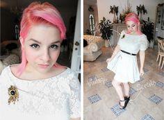 The little white dress (by Rachel Fernández) http://lookbook.nu/look/3915542-The-little-white-dress