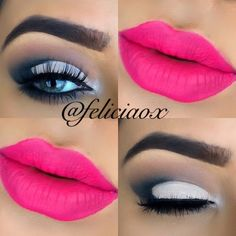 love this colour. Gorgeous Makeup, Love Makeup, Makeup Trends, Makeup Tips, Makeup Looks Tutorial, Eyeliner, Eyebrows, Colorful Eyeshadow, All Things Beauty