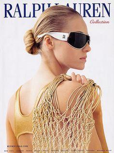 2007 Ralph Lauren Valentina Zelyaeva Magazine Ad | eBay