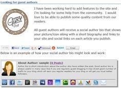 Free - Social Author Bio WordPress plugin