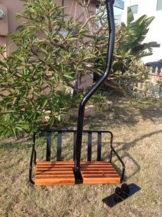 Buy Ski Lift Chair Best Recliner Reviews 41 Restored Chairs Images Skiing 1960 Cresta Butte Resort Powder Coated Black With 70 Year Old