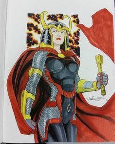 Original Comic Art titled Big Barda, located in Bill 's Daniel HDR Comic Art Gallery Comic Book Girl, Comic Book Artists, Comic Artist, Comic Books Art, Superhero Characters, Dc Comics Characters, Female Superhero, Big Barda, Jack Kirby Art